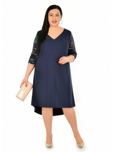 Sukienka koktajlowa dla puszystych