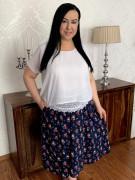 Spódnica duże rozmiary